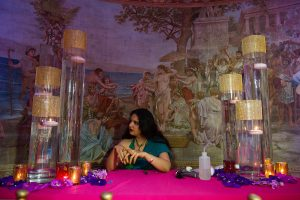 Versace Mansion Mehndi Party Miami Beach wedding by Chris Weinberg Events