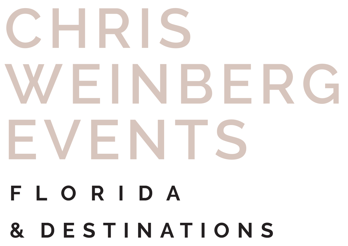 Chris Weinberg Events • Miami Wedding Planner