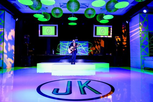Neon Nightclub Mitzvah Woodfield Country Club Miami by Chris Weinberg Events.