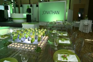 Tropical Mitzvah at Temple Beth Sholom Miami by Chris Weinberg Events