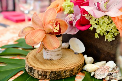 Tropical Mitzvah at Rusty Pelican Key Biscayne planned and designed by Chris Weinberg Events.